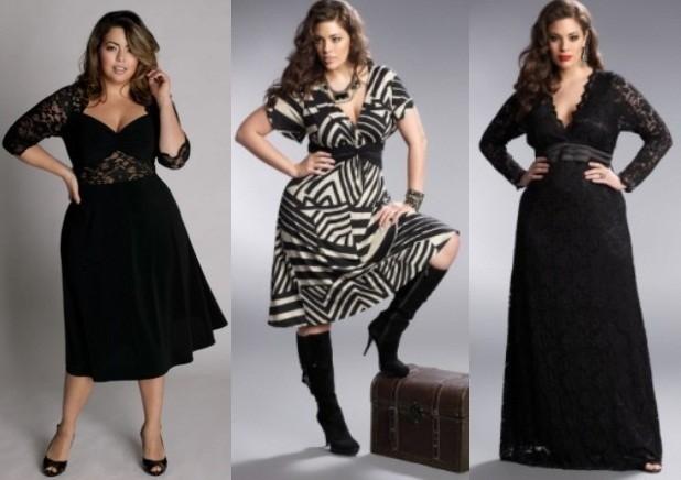 Выбор одежды для пышных дам