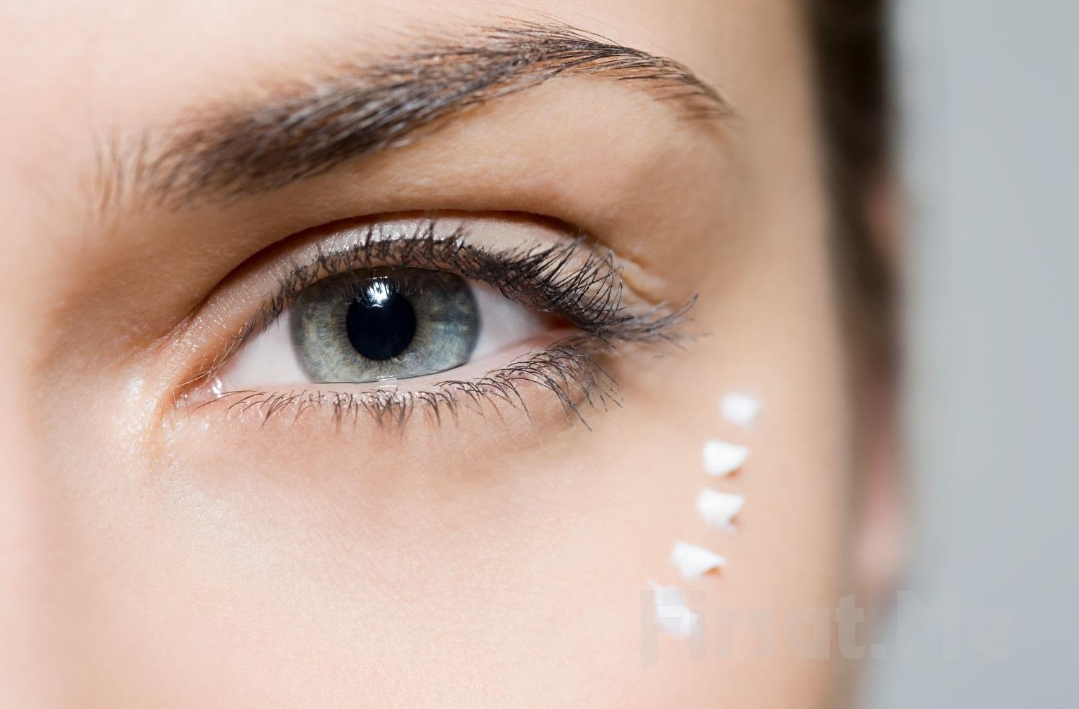 Питательная маска от морщин вокруг глаз