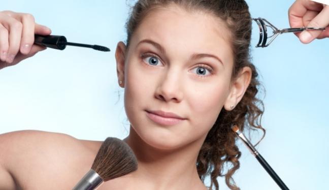 Как сделать макияж которые 9 лет 185