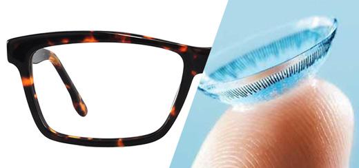 Контактные линзы. Контактные линзы, хорошая альтернатива очкам
