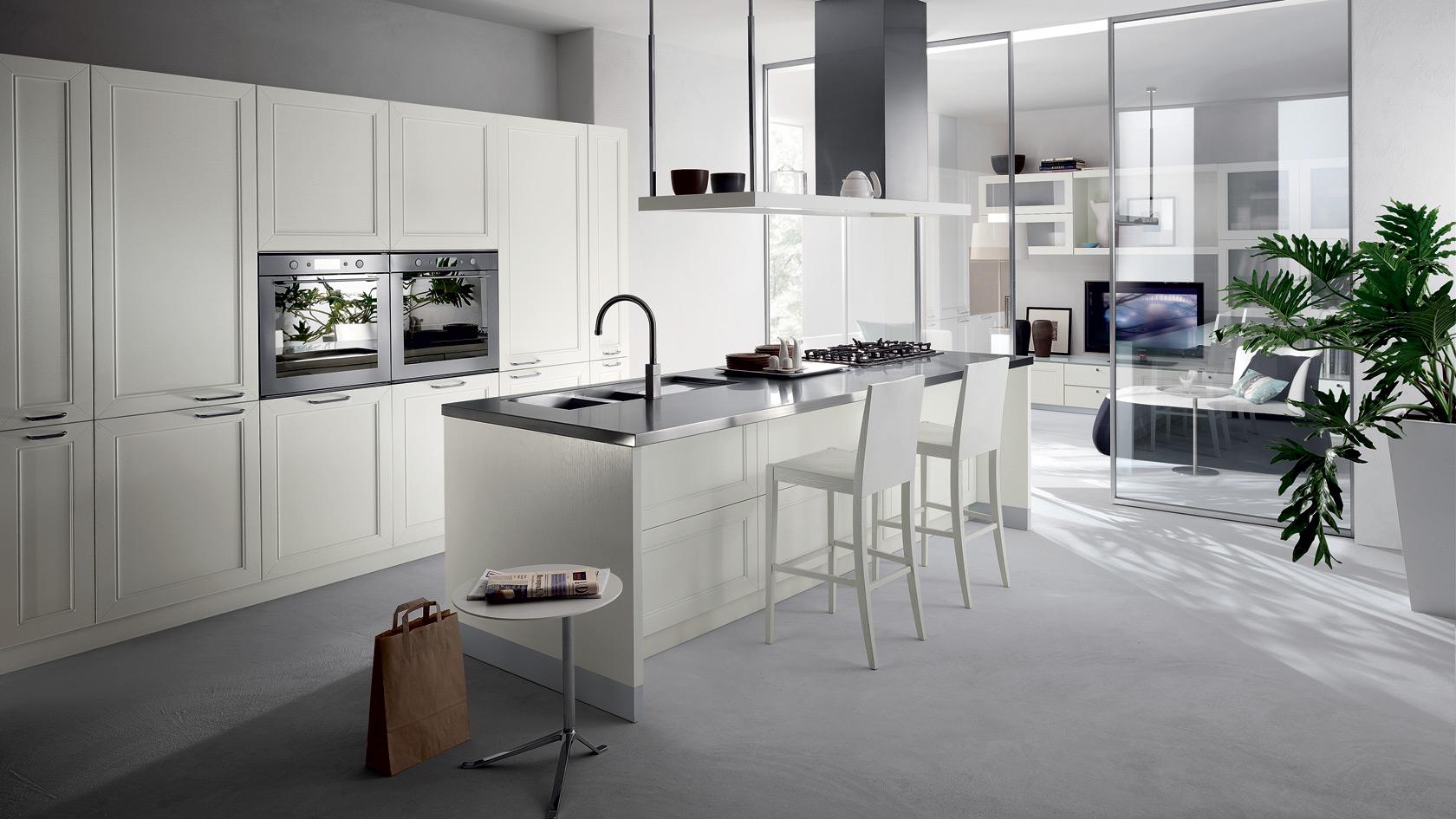Дизайна кухонь в стиле модерн из Италии