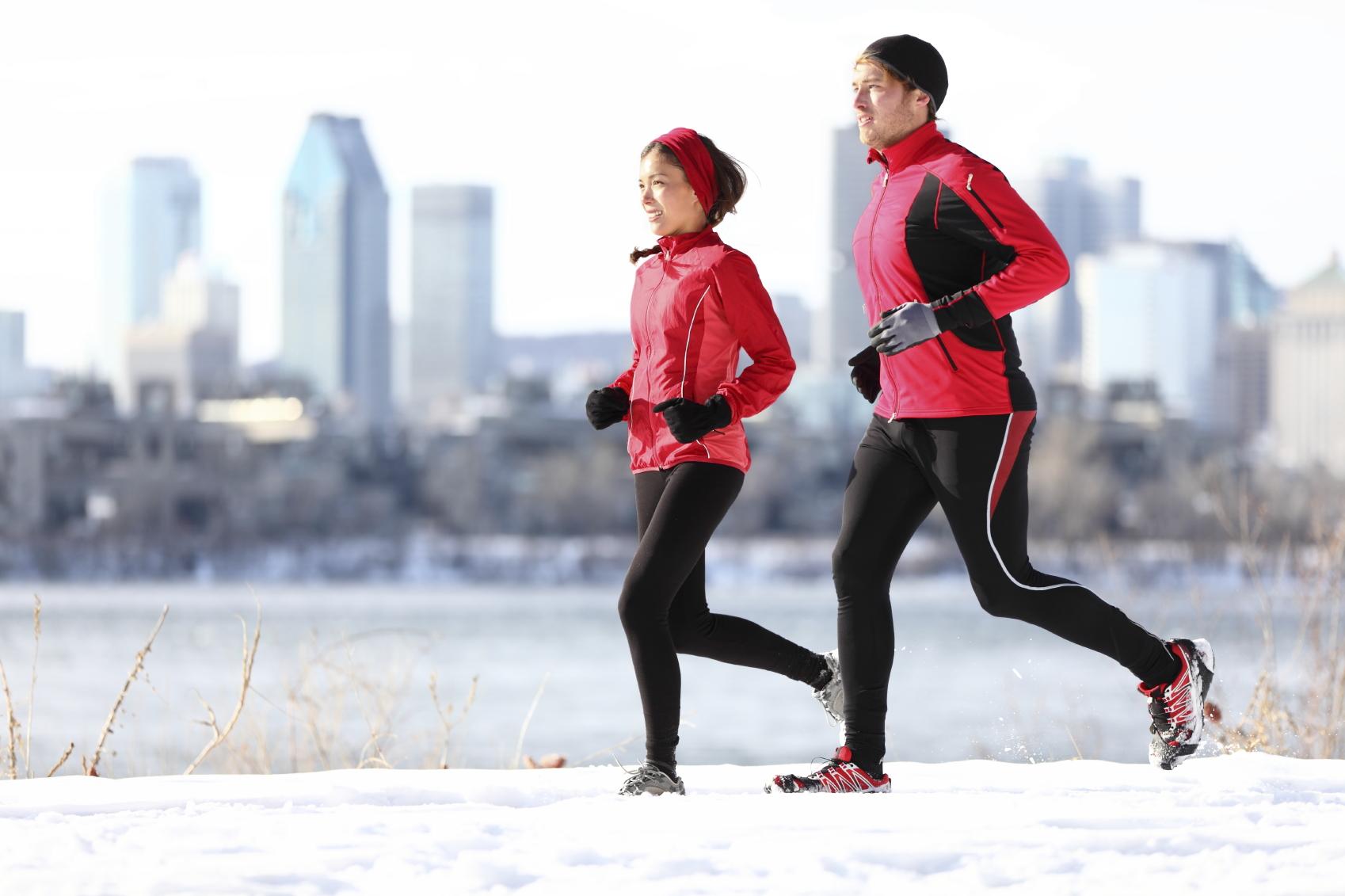 Все о зимних пробежках