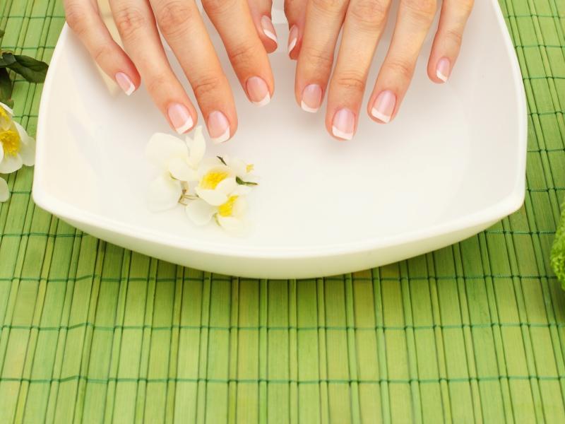 Маски для ногтей дома