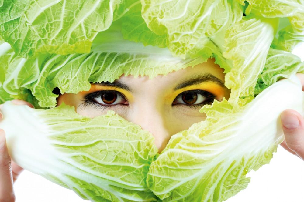 Волшебные маски из овощей