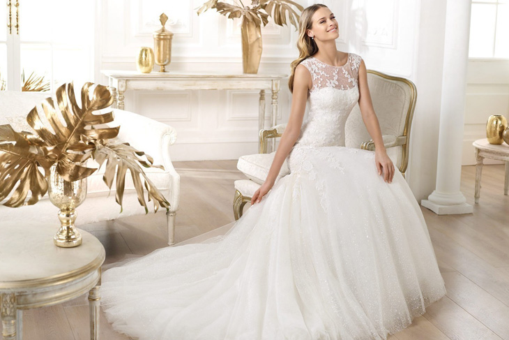 Свадебные платья: какие в моде