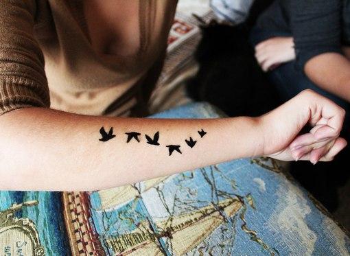 Временные татуировки: постоянные шрамы