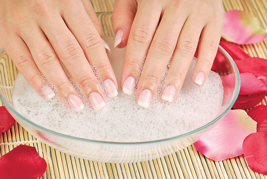 Ванна для укрепления и роста ногтей