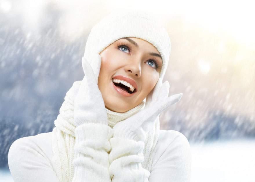 Ухаживаем за кожей лица зимой