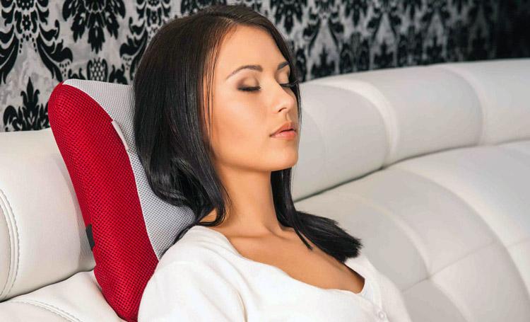 Отдых с комфортом, достаточно для этого купить массажную подушку