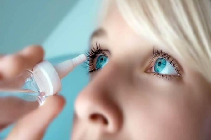 Витаминные капли для глаз из Японии
