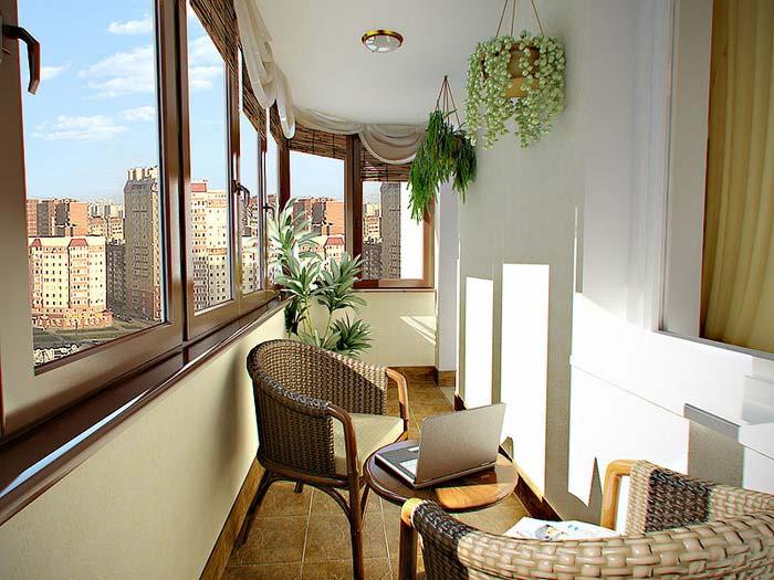 Как идеально сделать лоджию местом отдыха?