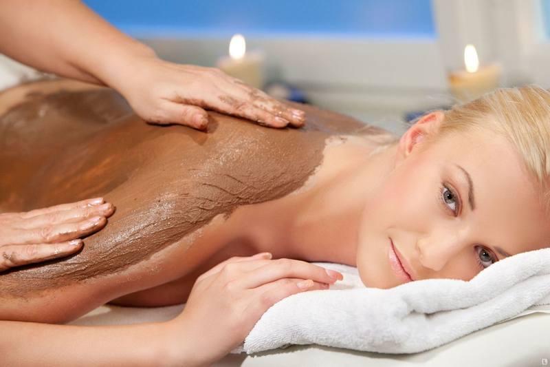 Глиняное обертывание для похудения