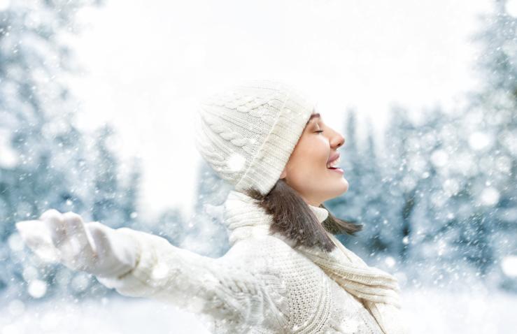 Холод улучшит цвет лица и оздоровит человека