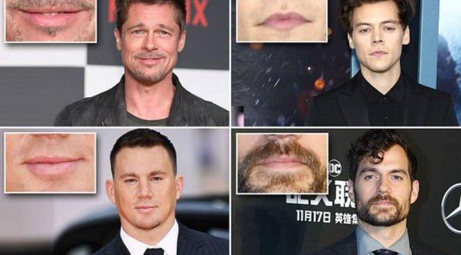 Мужчины проходят через накачку губ, чтобы походить на звезд