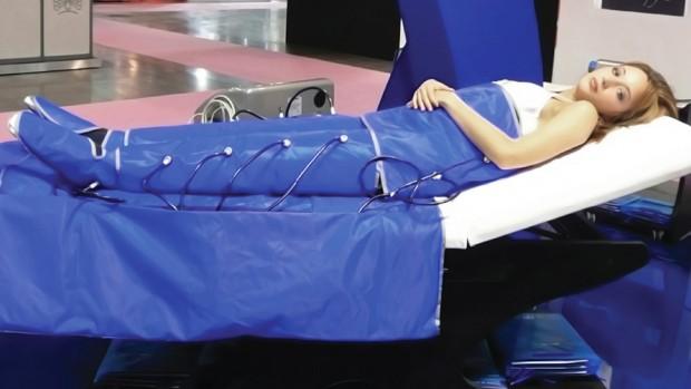 Аппарат для прессотерапии избавит от лишних килограммов