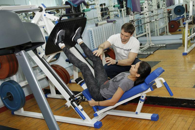 Тренировка — для здоровья