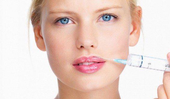 Пластика губ с помощью коллагена