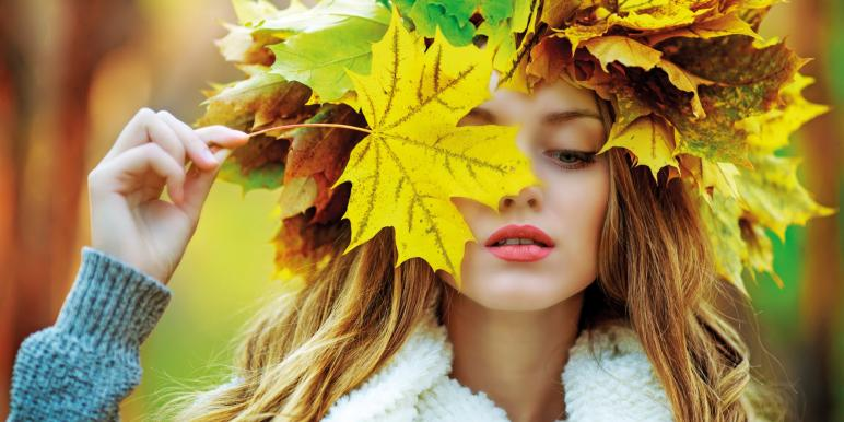 Осень: лучшее время для красивой кожи