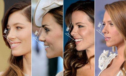 Найдена формула идеального женского носа