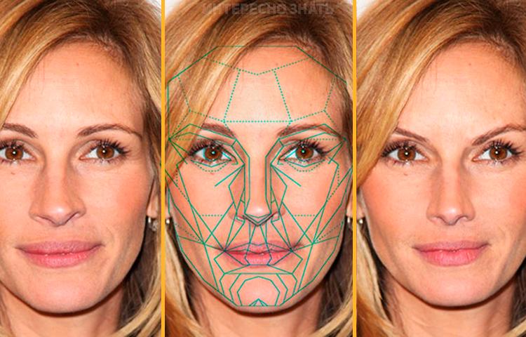 Золотое сечение лица