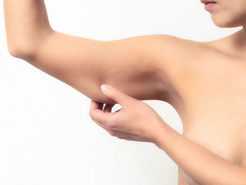 Упражнения для удаления жира с рук