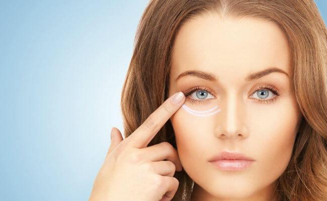 Популярные процедуры для области вокруг глаз