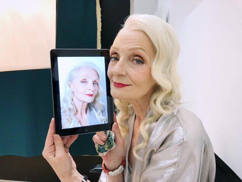 64-летняя модель из Санкт-Петербурга стала лицом L'Oreal Paris