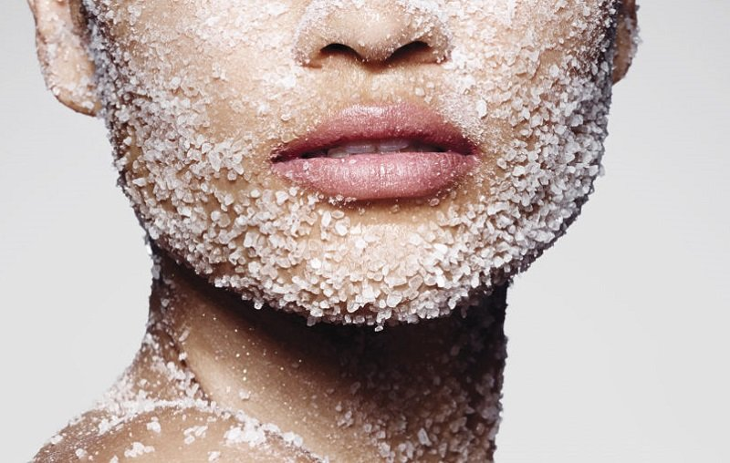 Как соль избавляет от морщин. Уже через 5 дней