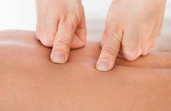 Точечный массаж для похудения: основные точки