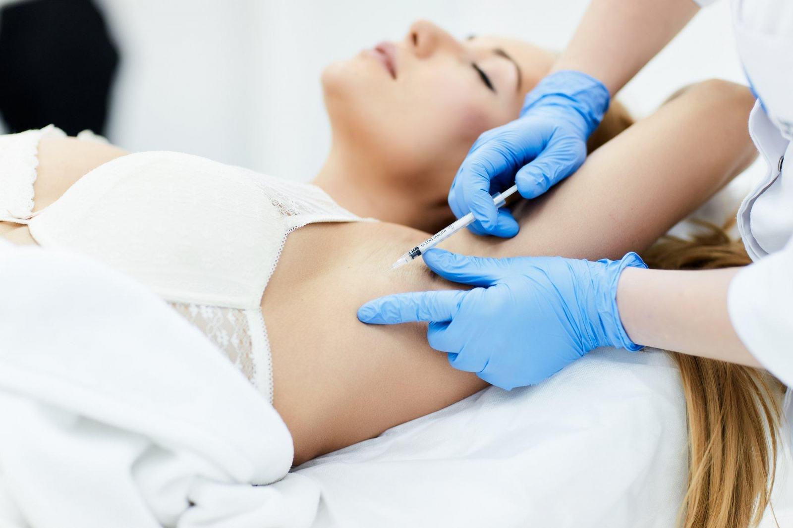 Лечат ли гипергидроз ботоксом?