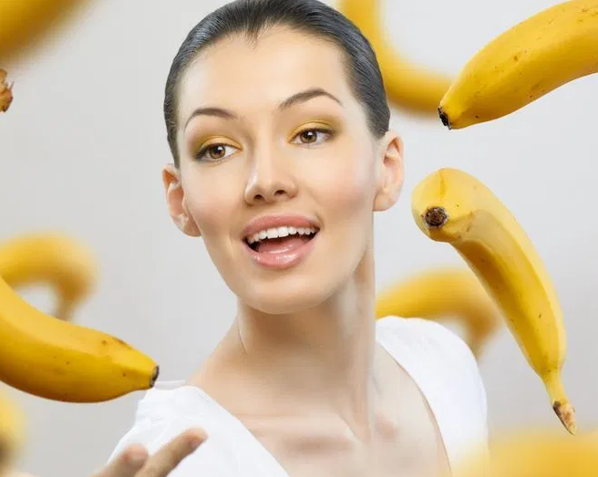 Банан – прекрасное средство от морщин