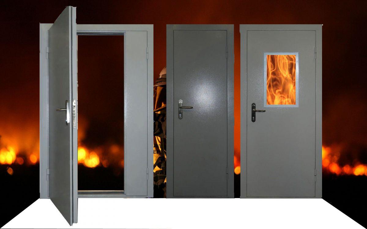 Преимущества использования противопожарных дверей