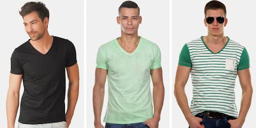 Правила выбора и виды мужских футболок